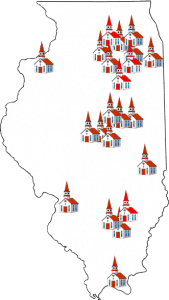 BFI Church Building Loans have been made to Illinois Baptit Churches in every region of the state